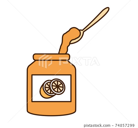 Orange jam 74857299