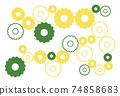 簡單的齒輪背景 74858683