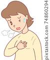 피로 · 호흡 곤란 74860294