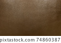 Close up of brown leather background or texture 74860387