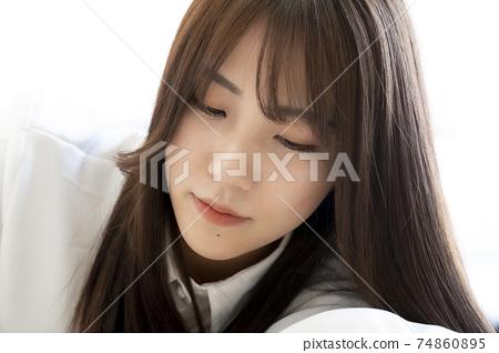 美麗的女人肖像 74860895
