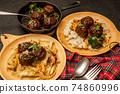 미트볼 tomato sauce meatballs 74860996