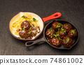 미트볼 tomato sauce meatballs 74861002