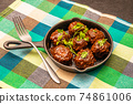 미트볼 tomato sauce meatballs 74861006