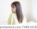 Beautiful woman portrait 74861018
