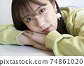 Beautiful woman portrait 74861020