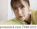 Beautiful woman portrait 74861032