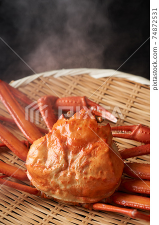 剛煮好的雪蟹 74872531