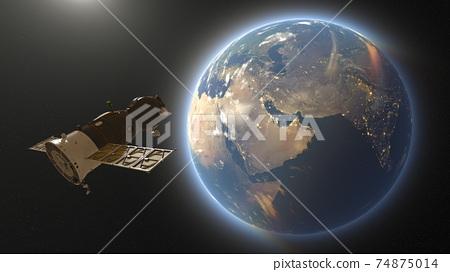 太空飛船 74875014