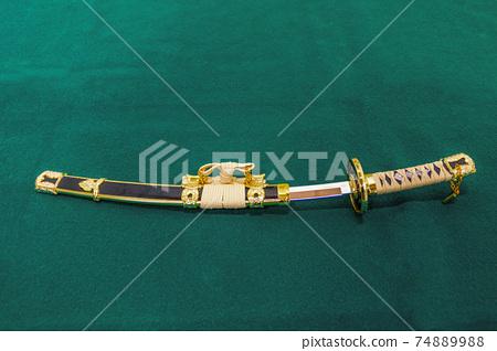 日本劍和劍鞘 74889988