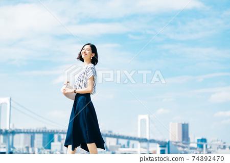 商業女性休閒 74892470