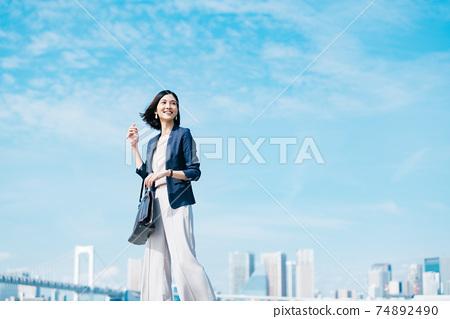 商業女性休閒 74892490