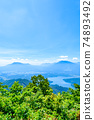 Mt. Madarao in summer: View from Daimeijindake to Lake Nojiri 74893492
