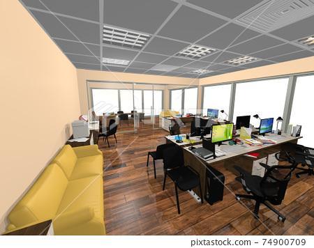 小型辦公室 74900709