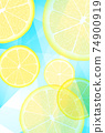 檸檬片明信片 74900919