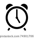 鬧鐘圖標5點 74901706