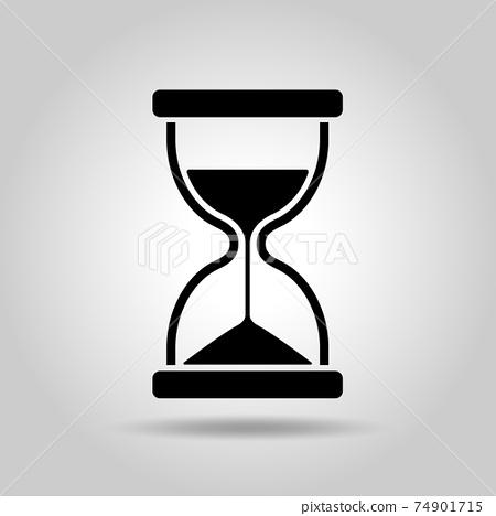 모래 시계 아이콘 74901715