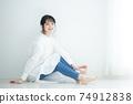 흰 셔츠 원피스 여성 74912838