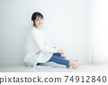 흰 셔츠 원피스 여성 74912840