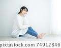 흰 셔츠 원피스 여성 74912846