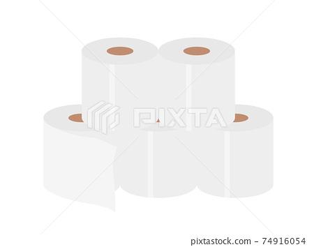 衛生紙的插圖 74916054
