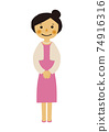 人的物質。黨的圖像例證。禮服的婦女。 74916316