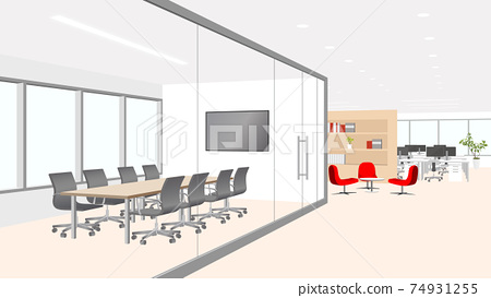 辦公室,可欣賞會議室風景 74931255