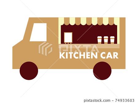 廚房車圖標 74933683