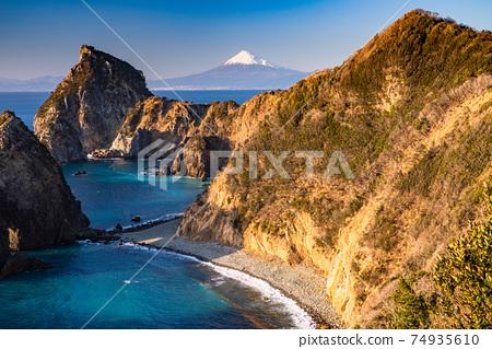 《靜岡縣》富士山和千Sen門/伊豆風景區 74935610