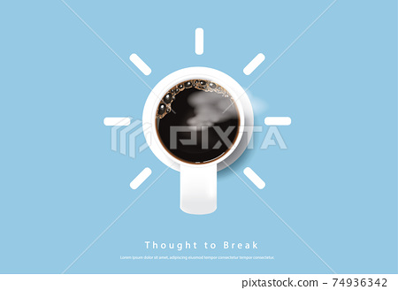 Coffee Poster Advertisement Flayers Vector Illustration 74936342