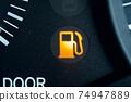 燃油量警告燈汽油燈汽油標記 74947889