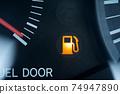 燃油量警告燈汽油燈汽油標記 74947890