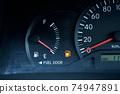 燃油量警告燈汽油燈汽油標記 74947891