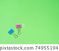 Funny smile metal binder clip 74955104