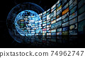 Global network video content 74962747