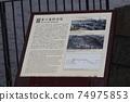 Yokohama Port Zou-no-hana Breakwater Explanation Board 74975853