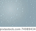 Water drops background material 74989434