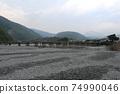 嵐山渡月橋 74990046
