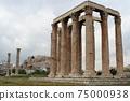 아테네의 제우스 신전과 파르테논 신전 75000938