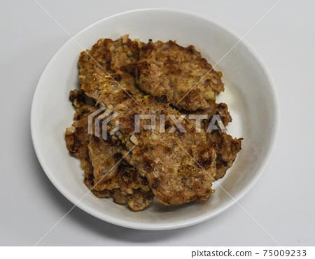 돼지고기 떡갈비 요리 75009233