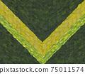 황금 월계관 (V 자) 75011574