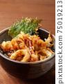 日本飛烏賊碗 75019213