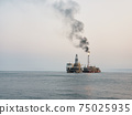 Floating production storage and offloading (FPSO) vessel, oil and gas indutry 75025935