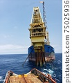 Floating production storage and offloading FPSO vessel, oil and gas indutry 75025936