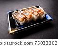 壽司康格爾鰻魚壓壽司日本一側 75033302