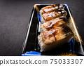 壽司康格爾鰻魚壓壽司日本一側 75033307