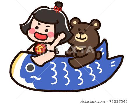 Kintaro and a bear on a carp streamer 75037543