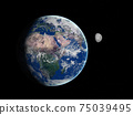 Space scene 75039495