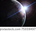 Space scene 75039497