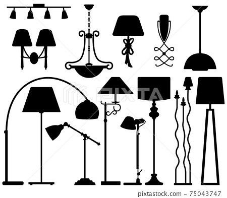 Lamp Design for Floor Ceiling Wall.  75043747